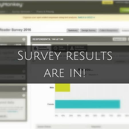 Survey results are in!