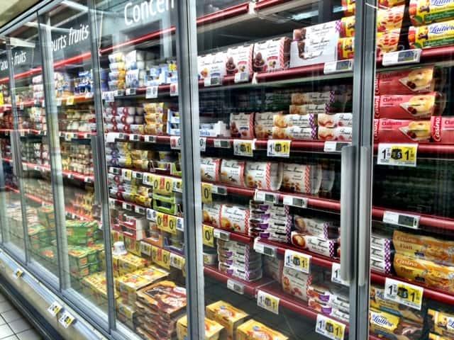 france little dessert aisle