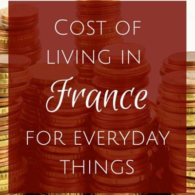 Cost of living in France: French prices for everyday things