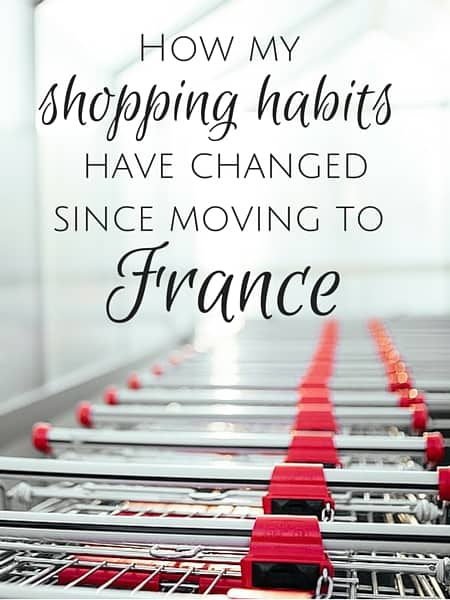 move to france shopping habits