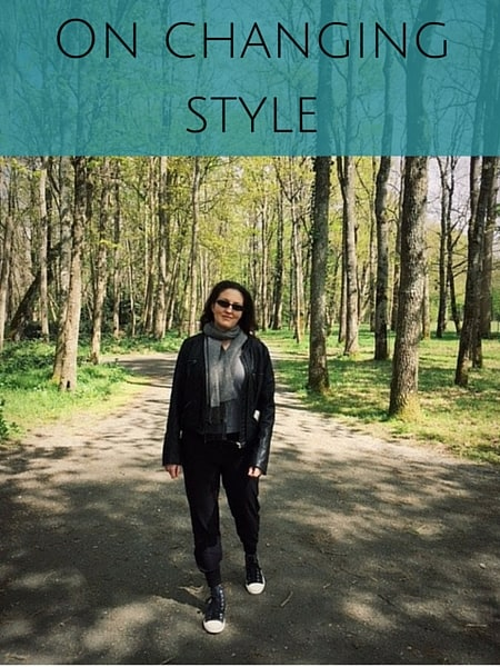 on changing style