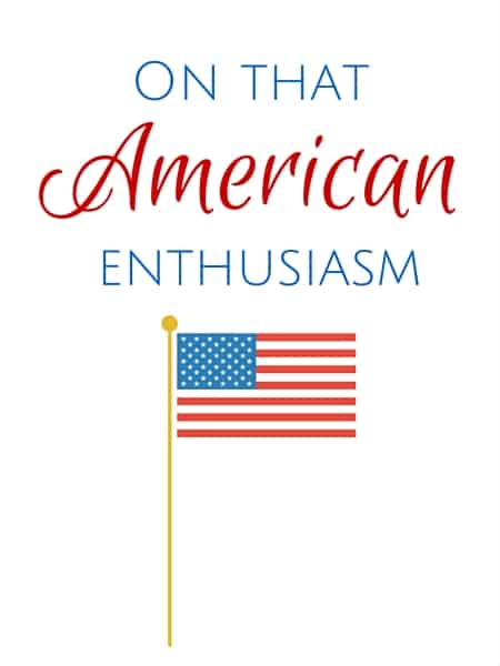 american enthusiasm