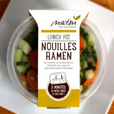 Healthy brands in France: Natsu Foods
