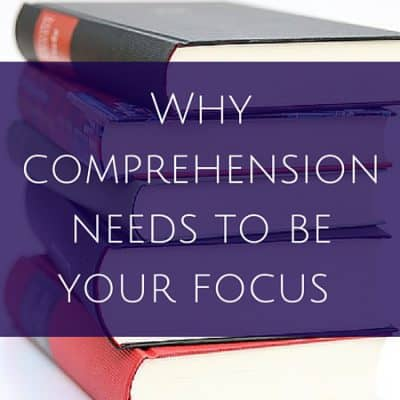 Why comprehension needs to be your focus when learning a foreign language