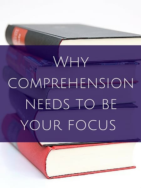 Language learning- Why comprehension needs to be your focus