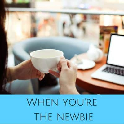 What changes after you've been the newbie yourself