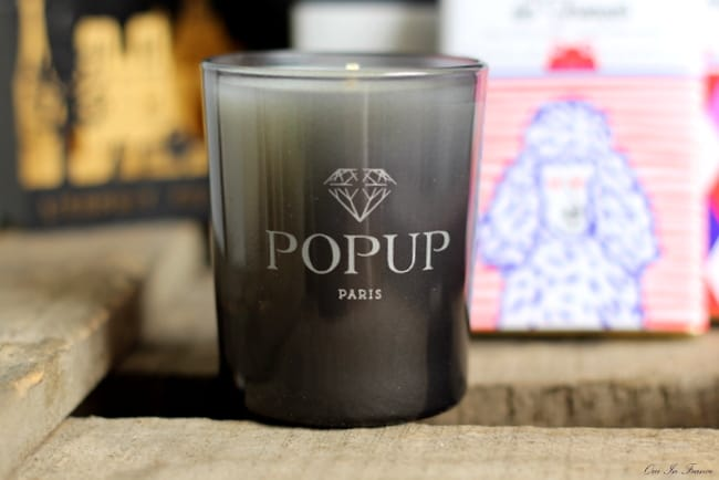popup paris candle gift