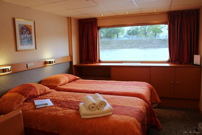 cabin on seine princess croisieurope