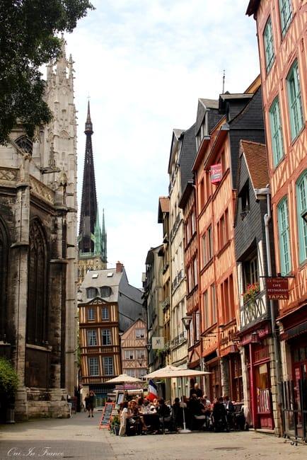 rouen city streets