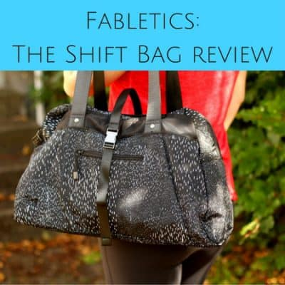 Fabletics in France: The Shift Bag review