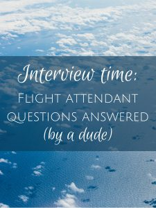 flight attendant interview