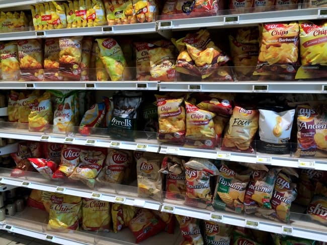 where are french potato chips in grocery store
