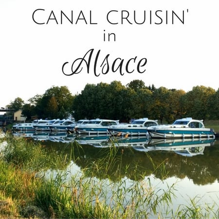 canal boat rental france