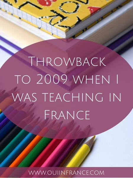 teaching in france
