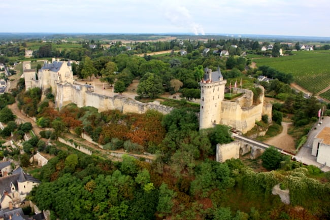 chinon-fortress-view