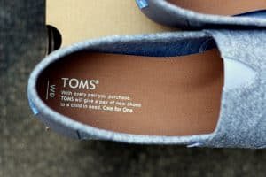 toms shoes review one for one message