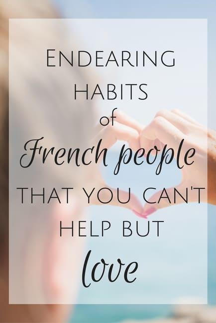 french habits i love