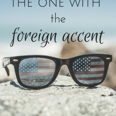 What changes when you're the one with the foreign accent
