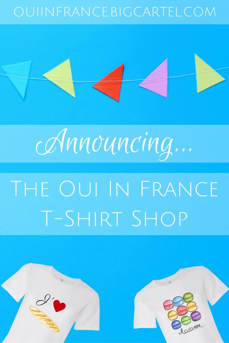 oui in france francophile t-shirts