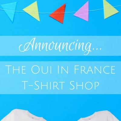 Francophile tote bags now in the Oui In France shop (2 new designs!)