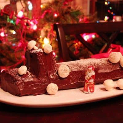 French up your Christmas with a bûche recipe