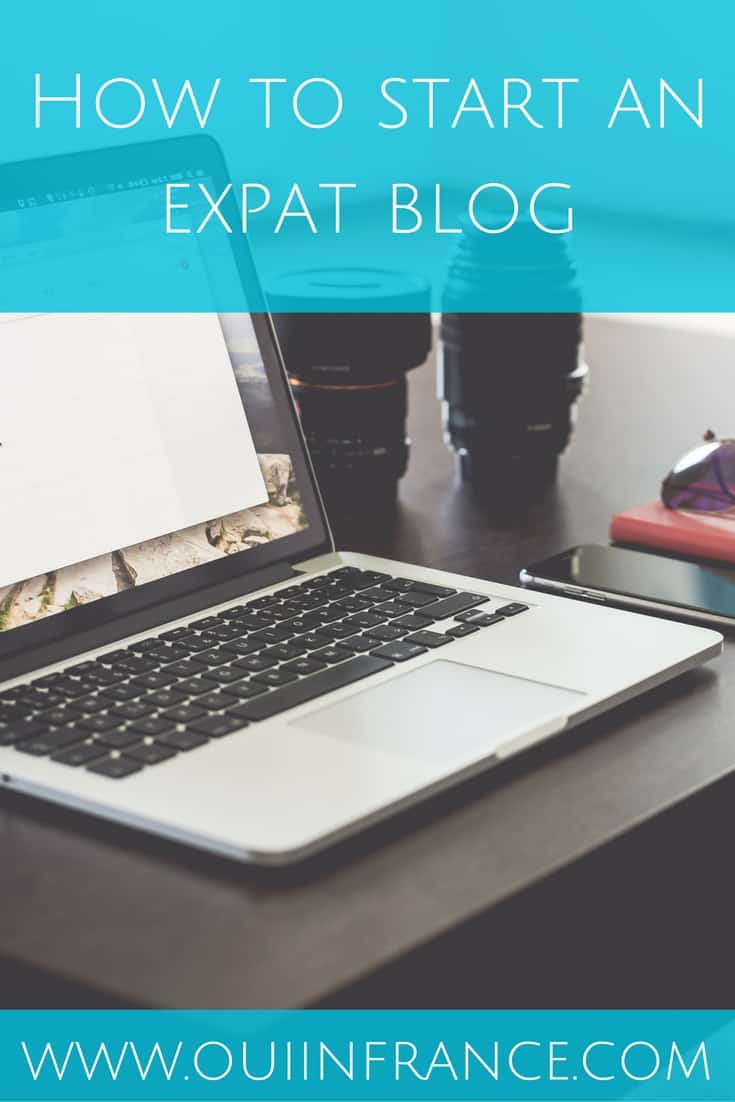 How to start an expat blog