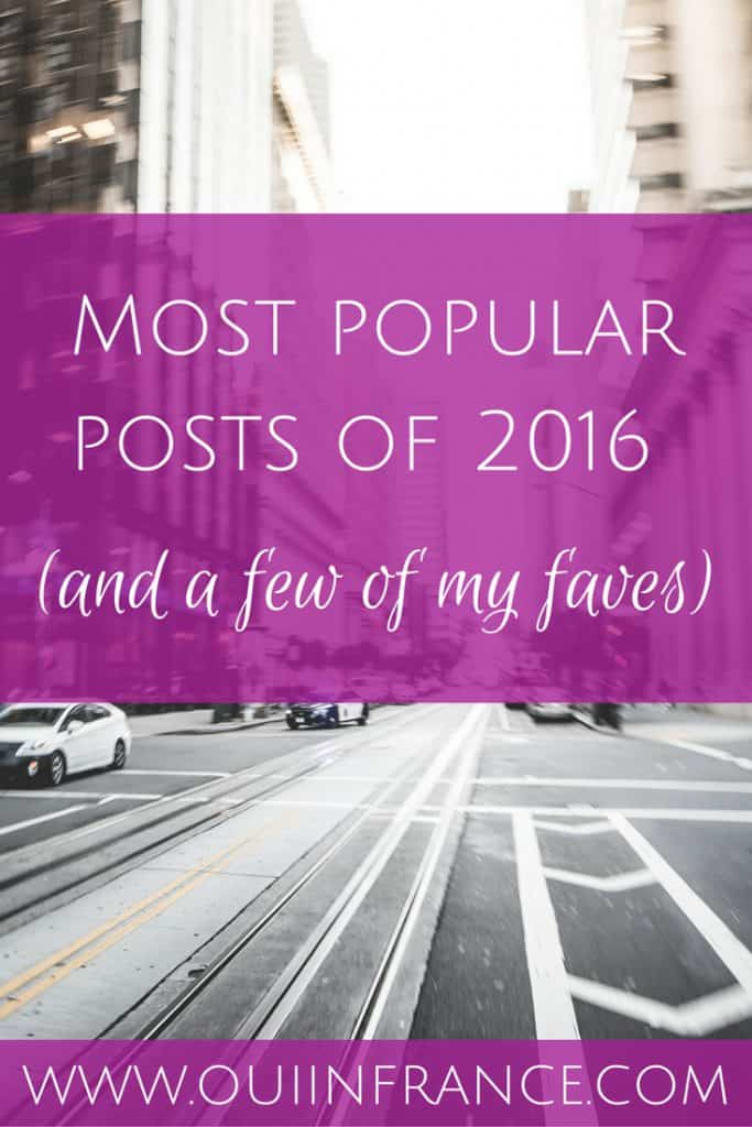 Most popular posts of 2016