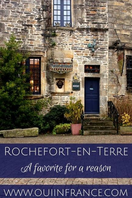 Rochefort-en-Terre brittany village