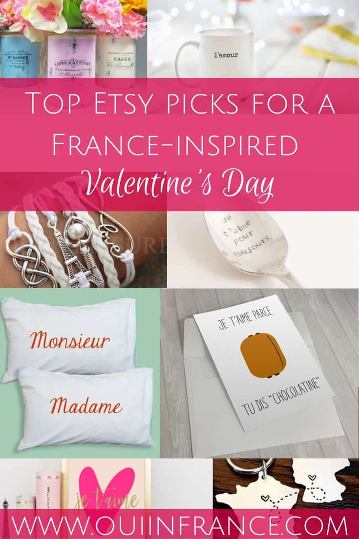 Top Etsy picks for a France-inspired Valentine's day