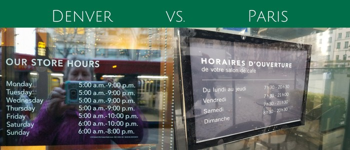 starbucks hours usa and france