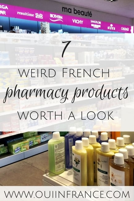 weird french pharmacy products