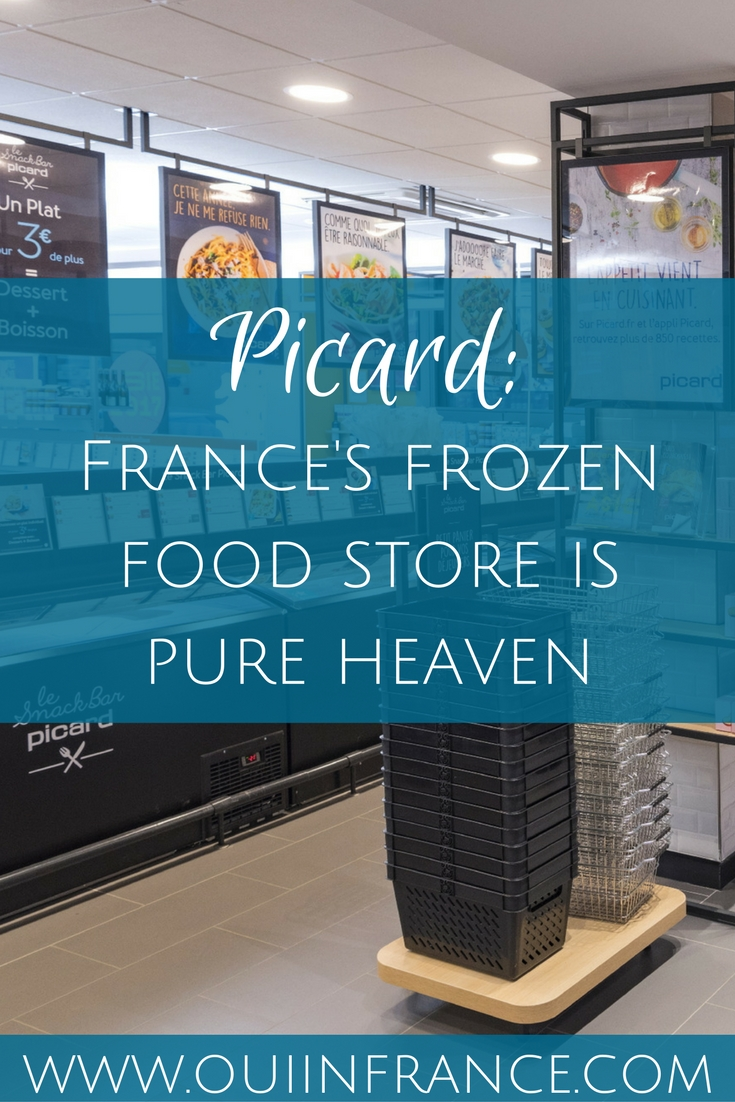 picard frozen food store france