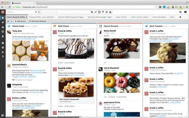 hootsuite blogging tools