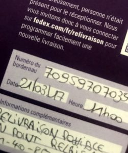 how the french write numbers
