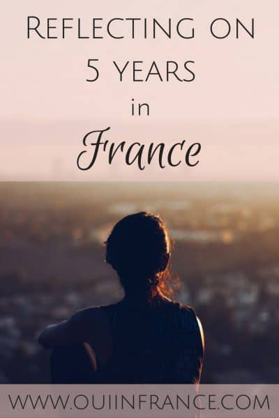 Reflecting on 5 years in France