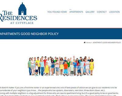 A funny good neighbor policy