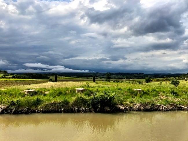 canal du midi landscape