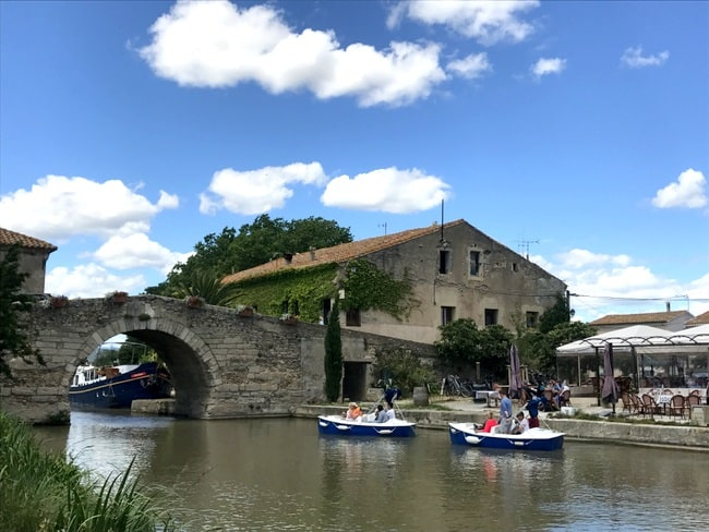 le somail canal cruise stop