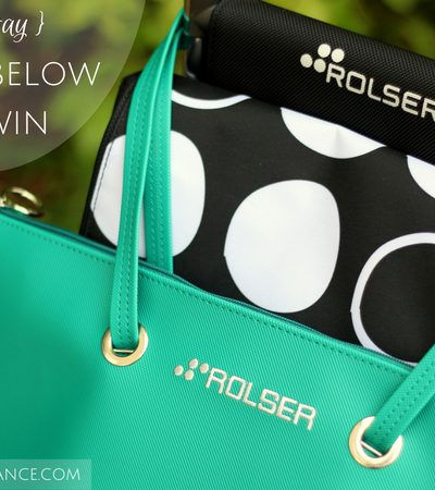 Oui In France's 5th birthday & Rolser shopping trolley review (GIVEAWAY)