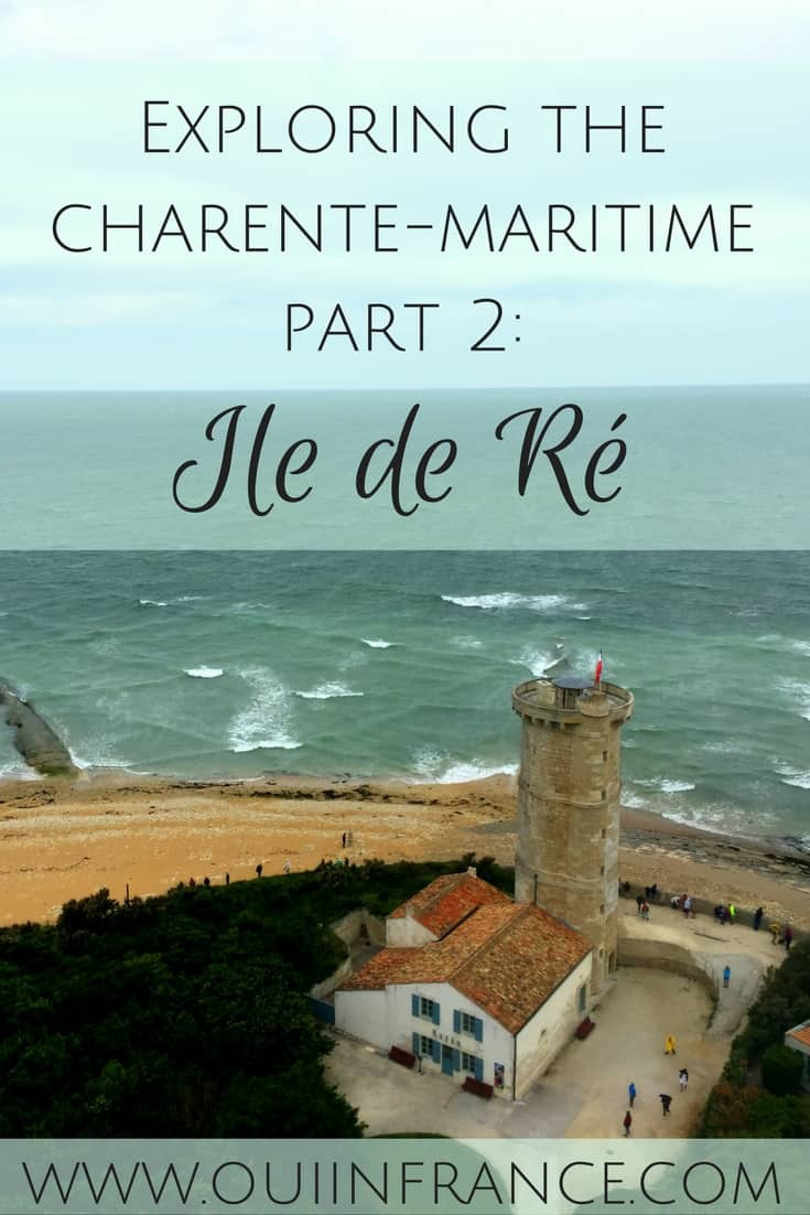 Exploring the charente-maritime ile de re