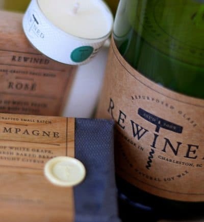 Gift pick: Rewined candles & soaps