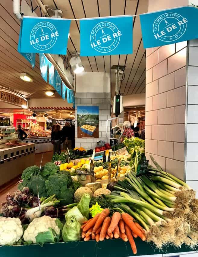 ile de re indoor market