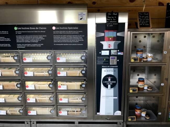 ile de re oyster distributor machine