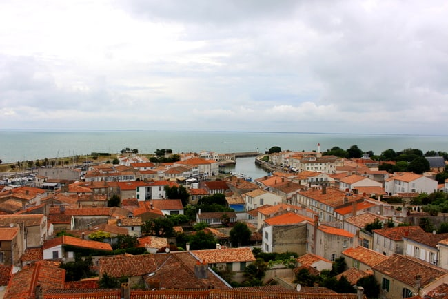 ile de re view from bell tower
