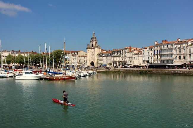 old port in la rochelle charente maritime