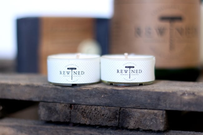 rewined candle tea lights
