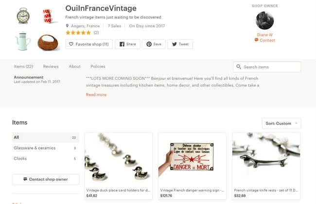 French vintage items just waiting to be by OuiInFranceVintage