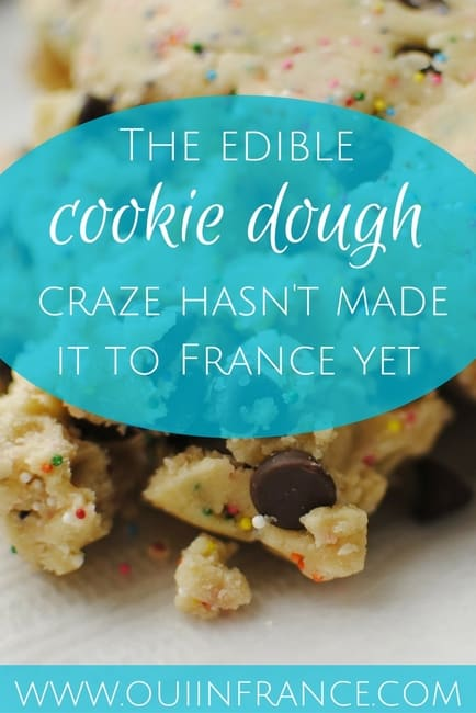 edible cookie dough in france