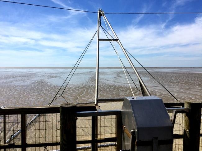 fishing pontoon carrelets france