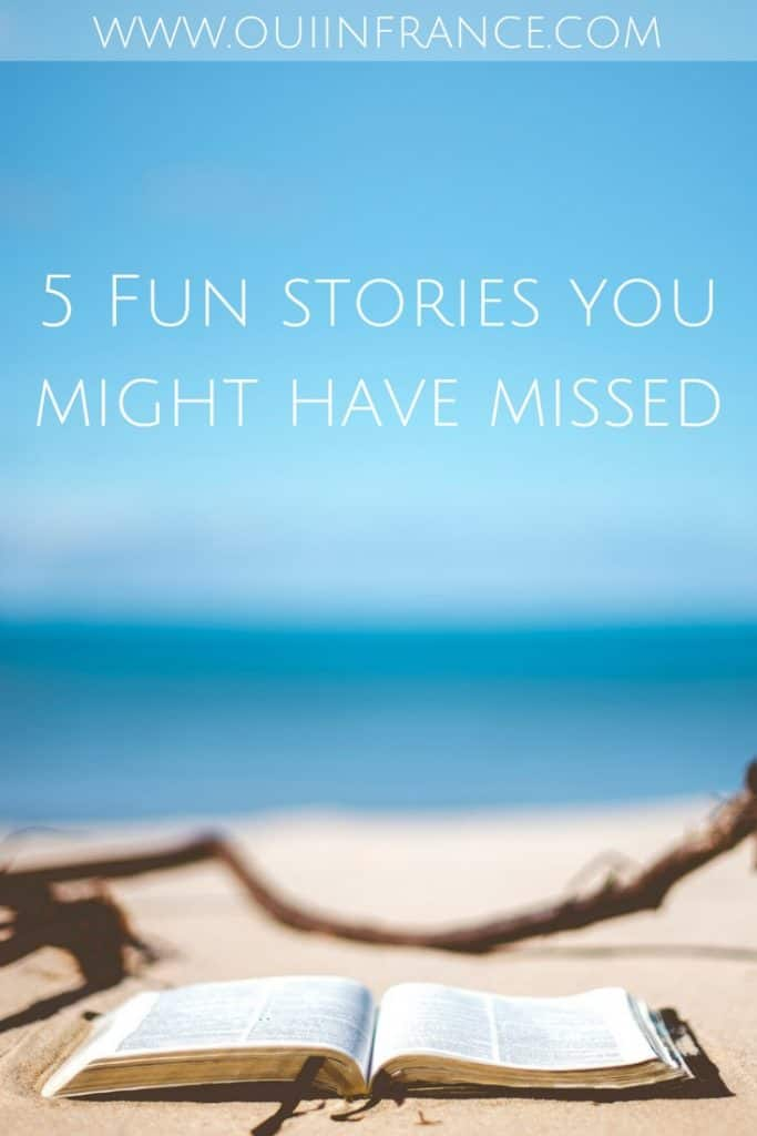 5 Fun stories you might have missed on french culture